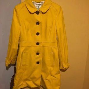 Bright Mustard long coat